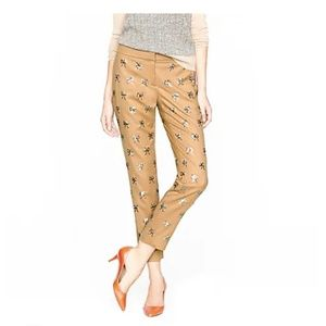 J. Crew Collection Sequin Bow Pants
